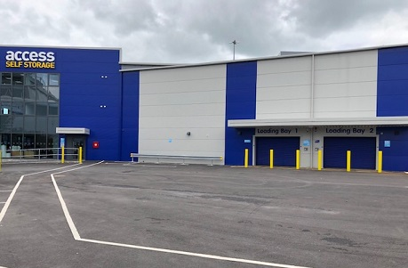 Access Self Storage Bristol loading bay