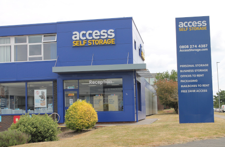 Access Self Storage Reading front