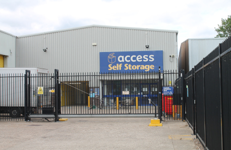 Our self storage facility in Wimbledon