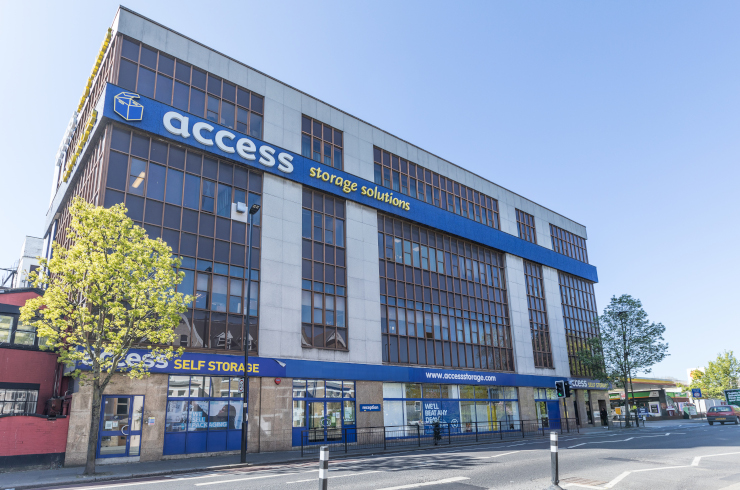 Our self storage facility in Acton