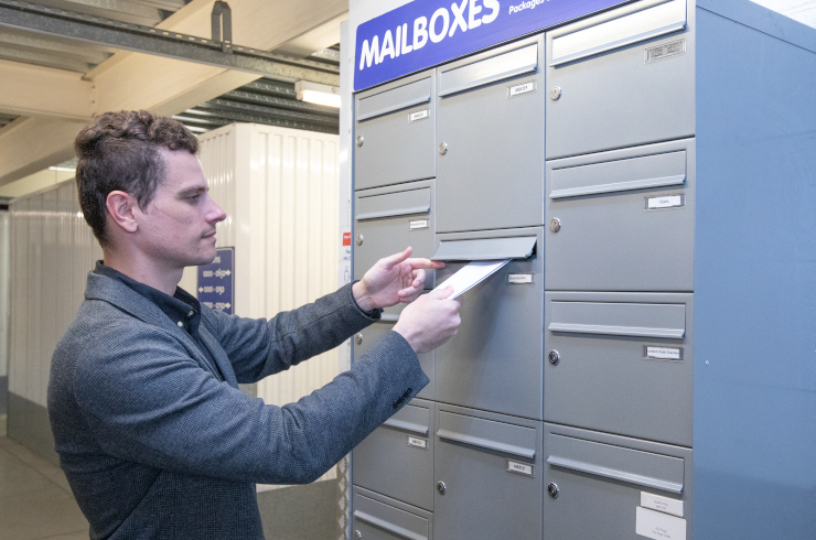 Access Self Storage mailboxes