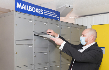 Access Self Storage Basingstoke - mailboxes