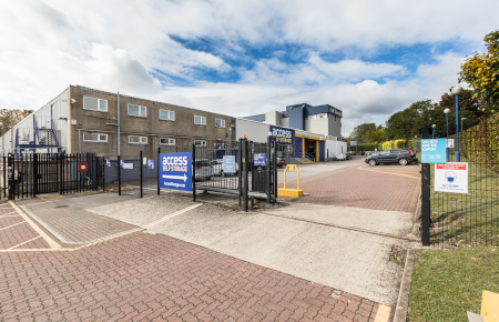 Access Self Storage Basingstoke - entrance