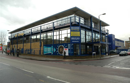 Our self storage facility in Battersea