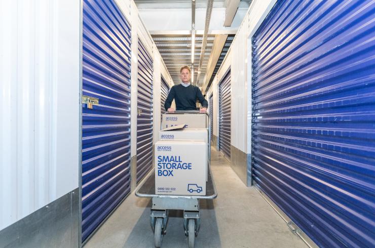 Access Self Storage Battersea - corridor