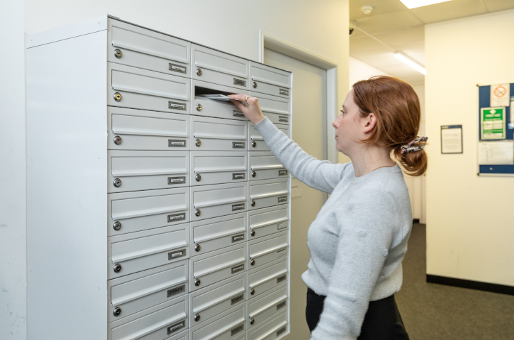 access-offices-battersea-mail-box