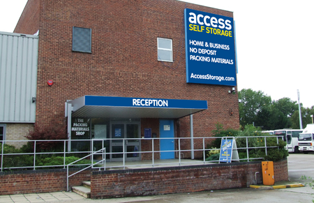 Our self storage facility in Beckenham.