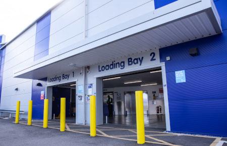 Access Self Storage Bristol - loading bay