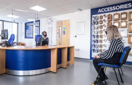 Access Self Storage Bristol - reception