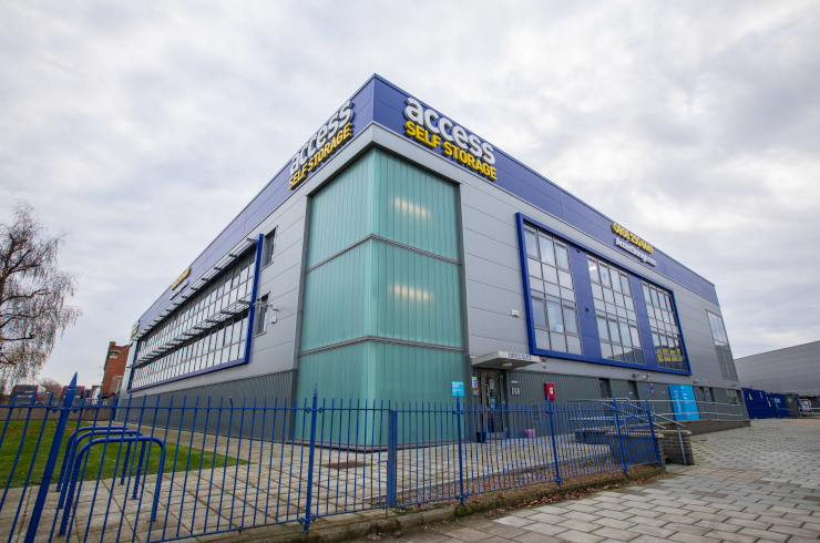 Our self storage facility in Catford.