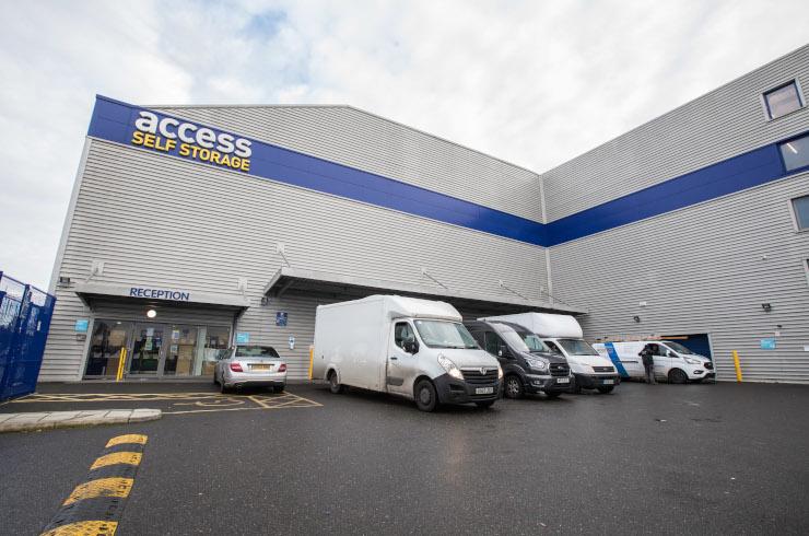 Access Self Storage Catford - car park