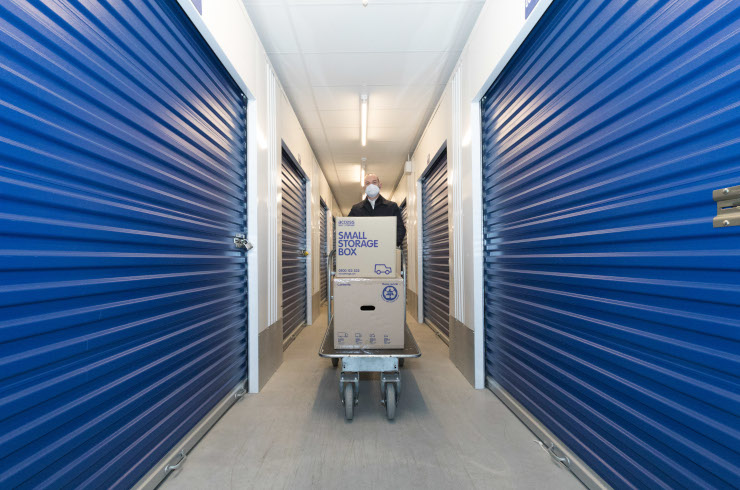 Access Self Storage Catford - trolley