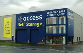 Our self storage facility in Derby.