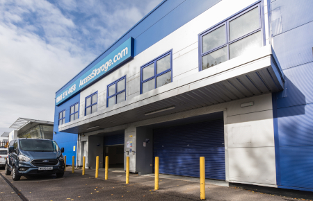 Access Self Storage Guildford - loading bay