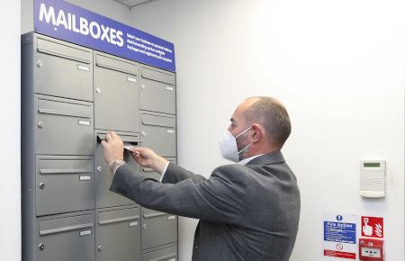 Access Self Storage Guildford - mailboxes