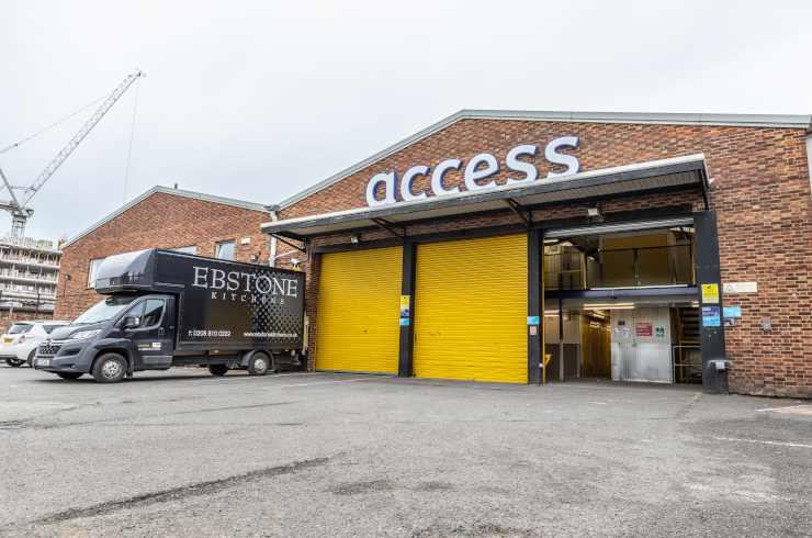 Access Self Storage Hanwell - loading bay