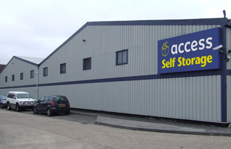 Our Access Self Storage Harrow facility