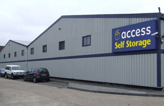 Our self storage facility in Harrow