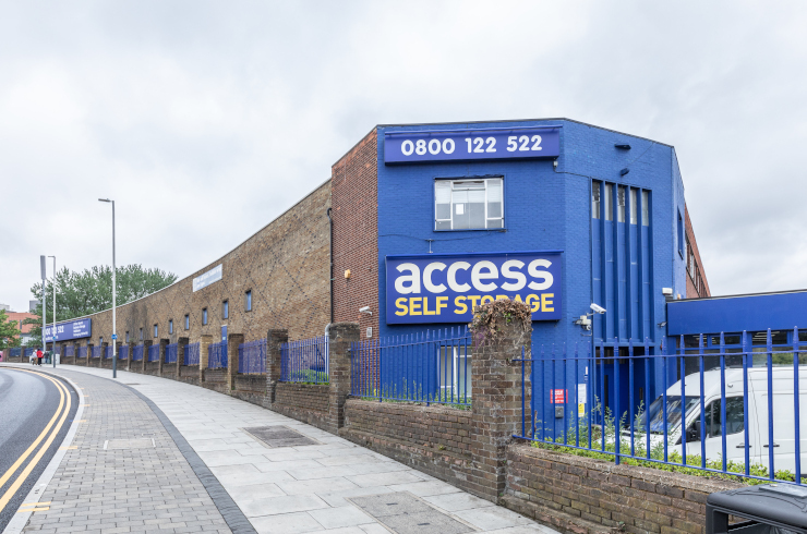 Our self storage facility in Hayes.