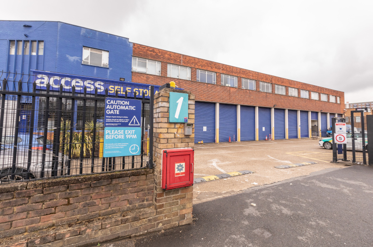 Access Self Storage Hayes - front gate