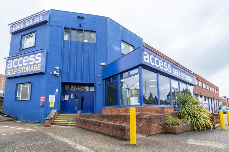 Access Self Storage Hayes - building