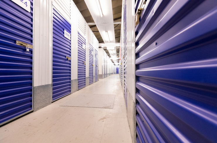 Access Self Storage Hayes - corridor