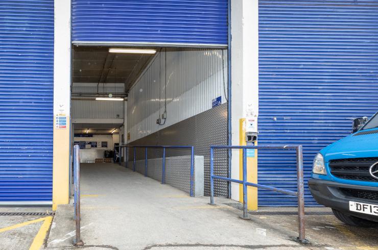 Access Self Storage Hayes - loading bay
