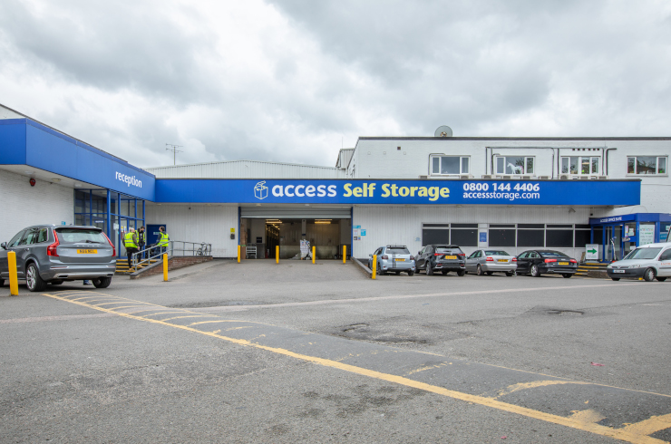 Our self storage facility in Hornsey.