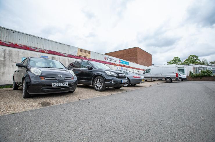 Access Self Storage car park