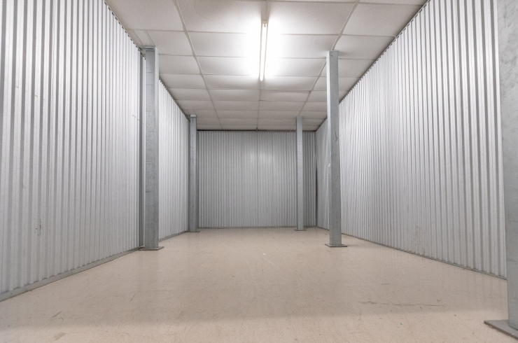 Access Self Storage large unit