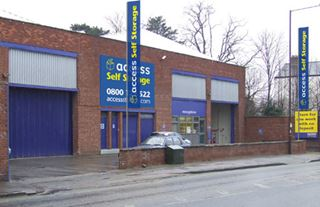 Our self storage facility in Isleworth.