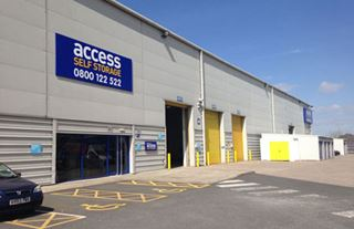 Our self storage facility in Manchester