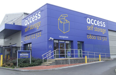 Our Access Self Storage Neasden facility