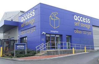 Our self storage facility in Neasden