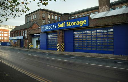 Our Access Self Storage Nottingham facility