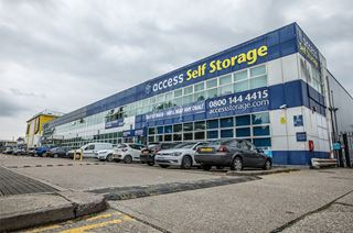 Our self storage facility in Orpington