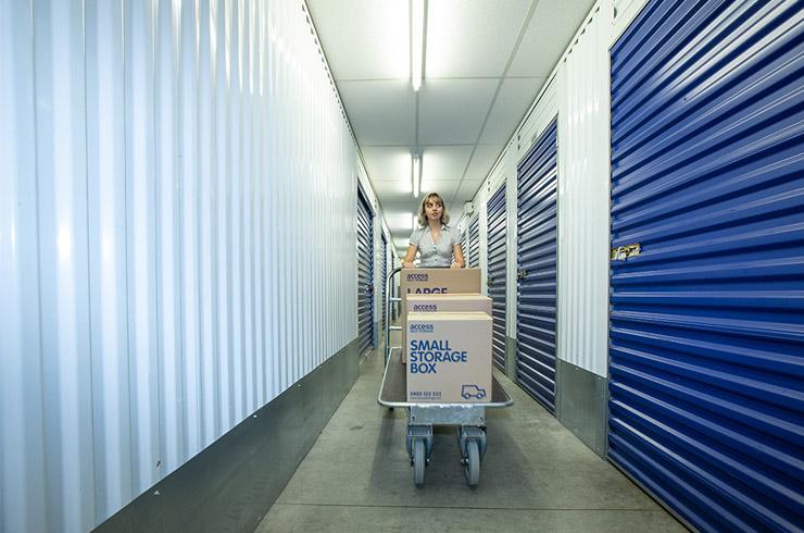 Access Self Storage Orpington - trolley