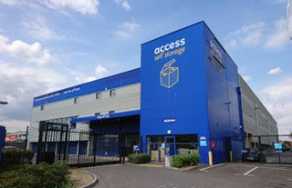 Our self storage facility in Romford.