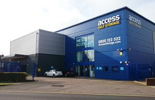 Our self storage facility in St Albans