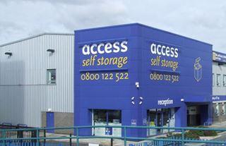 Our self storage facility in Sunbury