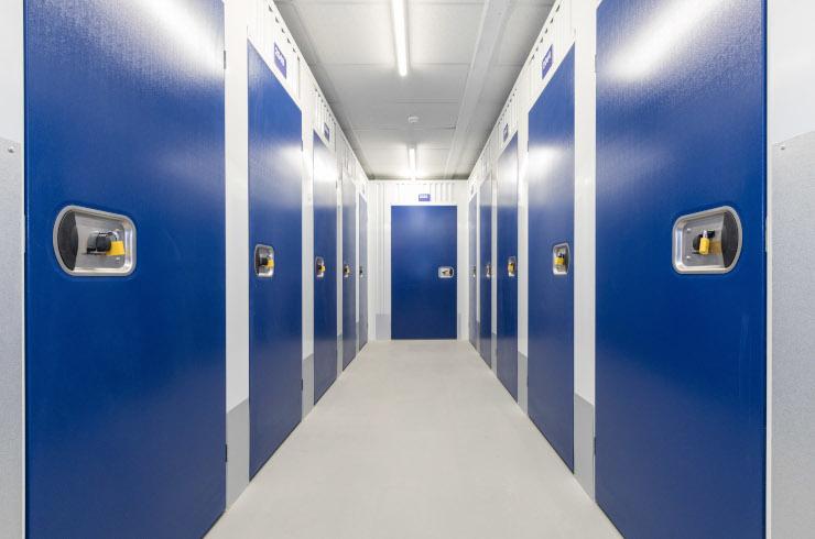 Access Self Storage corridor