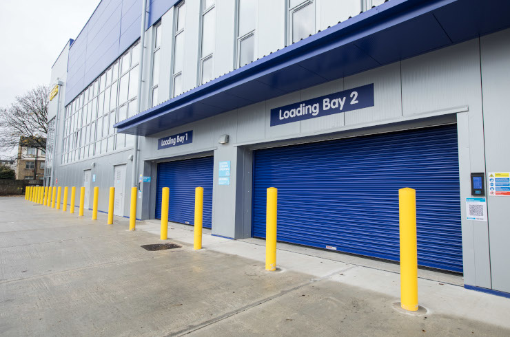 Access Self Storage loading bay