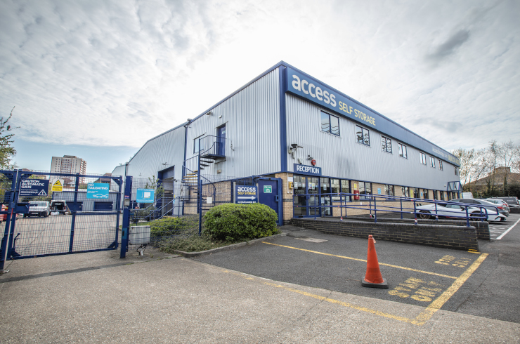 Our self storage facility in Twickenham