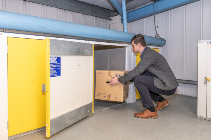 Access Self Storage locker