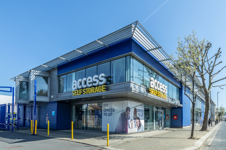 Our self storage facility in Wandsworth