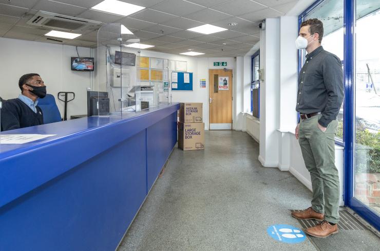 Access Self Storage reception