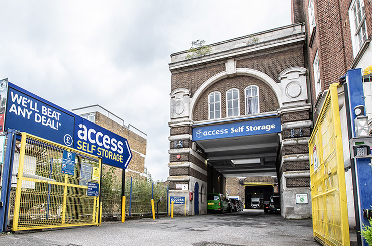 Our self storage facility in West Norwood