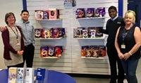 Access store people with Easter eggs