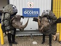 Rhino's in car park