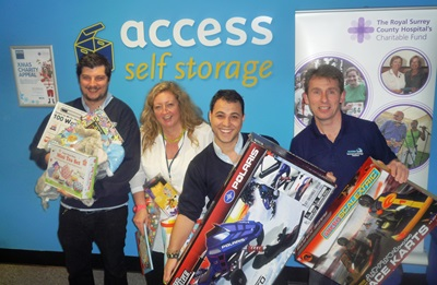 Access Xmas appeal - showing collections